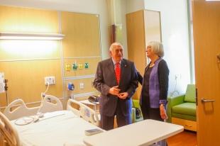 Christopher Dawes, former CEO of Lucile Packard Children's Hospital